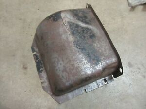 1950 Buick Super Interior Firewall Heater Duct Piece Hot Rod Rat Rod Parts