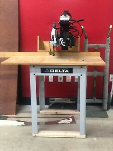 Delta Model 424 02 131 0014 10 Radial Arm Saw Gently Used Pick Up Only