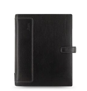 Filofax Holborn A5 Organizer Black Leather 025118
