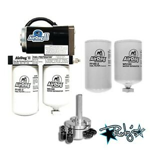 Airdog Ii 4g 165 Gph Lift Pump Extra Filters Sump 1999 2003 Ford Powerstroke 7 3