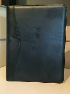 Royce Leather Writing Padfolio Black 745 10