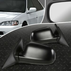 For 94 97 Honda Accord 2 Dr Pair Oe Style Powered Adjustment Side Door Mirror