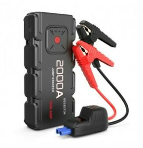 2000a Peak Qdsp Car Jump Starter By Isolector Portable Battery Power Pack Boost