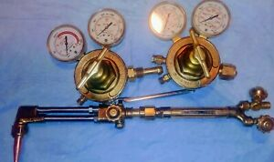 Victor Regulators And Cutting Torch