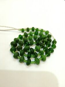 Roman Glass Beads Ancient Roman Glass Old Round Beads Patina Strand Necklace