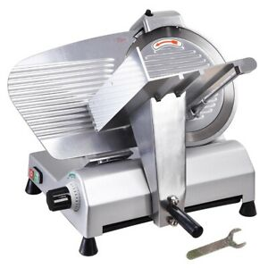 12 Blade Commercial Electric Meat Slicer 440 Rpm Deli Meat Cheese Food Cutter