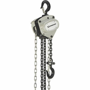 Strongway Manual Chain Hoist 11 000 lb Capacity 10ft Lift