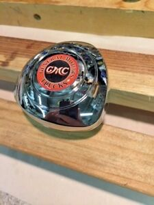 Gmc Parts Steering Wheel Spinner Knob Only Fits New Vehicles Padded Wheels