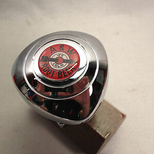A W Rootbeer Steering Wheel Spinner Knob Only Fits New Vehicles Padded Wheels
