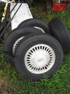 New 15 Inch Tires 200 Mile On Them 205 70 15 Cooper Off My Oldsmobile 88 5lug