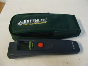 Greenlee Infrared Digital Thermometer W Belt Carrying Case Thh500 Free Ship