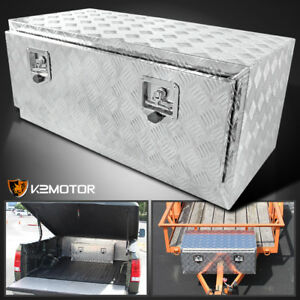 49 24 Heavy Duty Aluminum Tool Box Truck Home Storage Underbody Truck Trailer