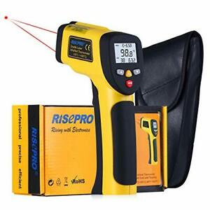Dual Laser Infrared Thermometer Risepro Digital Non contact Portable Infrared