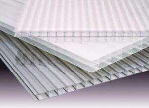 pack Of 2 35 X 48 X 14 Mm 1 2 Polycarbonate 4 Wall Clear Sheets