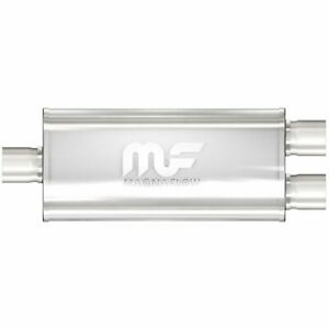 Magnaflow 12388 5 X 8 Oval Muffler Center In Dual Out 3 2 5 Body Length 24