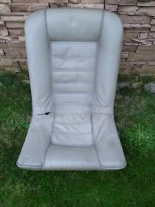 Bmw E24 Rear Leather Bucket Seat Project Car Parts Repair 635csi 633csi