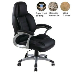 Big And Tall 400lb Gaming Office Chair High Back Ergonomic Desk Chair Pu Leather
