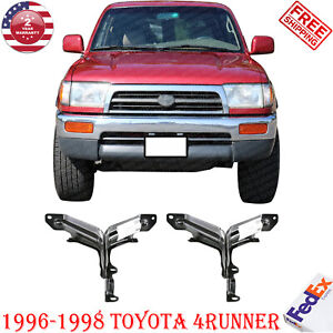 Rear Bumper Bracket Fits 1996 1998 Toyota 4runner Passenger Driver Set Of 2