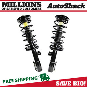 Front Complete Strut Assembly Pair For 2009 Saturn Vue Fwd 2 4l