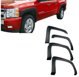 For 07 13 Chevy Silverado 1500 2500hd Oe Style Fender Flare Textured Short Bed