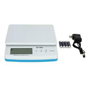 30kg 66lb X 0 1oz Postal Scale Digital Shipping Mail Packages Weigh With Adapter