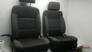 Driver Front Seat Bucket And Bench Cloth Fits 14 18 Sierra 1500 Pickup 1999798