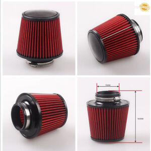 Universal K N Cold Air Filter Intake Induction Kit Cone Style