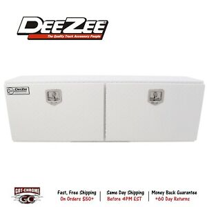 Dz59wh Dee Zee Tool Box Specialty Series Topsider Toolbox Brite Tread White