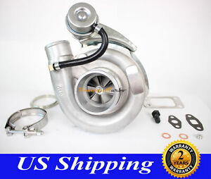 T3 T4 T04e V Band Turbocharger Turbo 63 A R With Internal Wastegate Universal