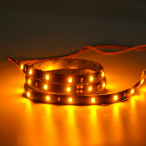 Amber 10x 60cm 2ft 30led High Power Car Motorcycle Boat Flexible Light Strip Bar