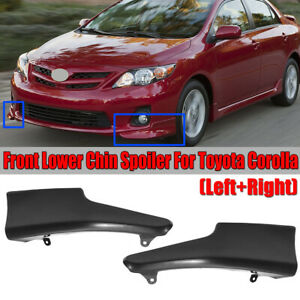 For 2011 2013 Toyota Corolla S Style Sports Front Bumper Body Lip Kit Urethane
