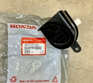 Genuine Honda Low Note Horn Assembly 38100 Stk A02