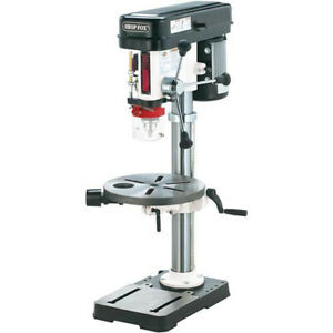 Shop Fox W1668 3 4 Hp 13 Benchtop Drill Press W Built in Dust Collection