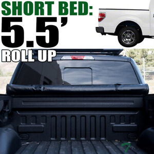 Topline For 2004 2014 Ford F150 5 5 Short Bed Lock Roll Up Vinyl Tonneau Cover