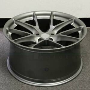 19x9 5 5x114 3 35 Aodhan Ls007 Wheels Matte Gun Metal Set 4 Rims 19 Inch