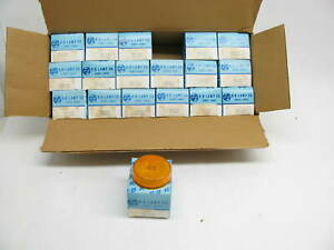 X18 Vintage Kd Lamps 571 0101 2 5 Round Amber Side Marker Lights Lamps