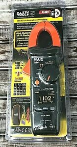 Klein Tools Cl330 400a Ac Auto ranging Digital Clamp Meter W Case New