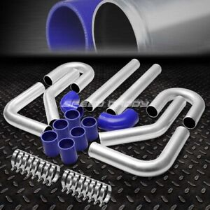 Universal 8pc 2 5 Aluminum Fmic Turbo Intercooler Piping Elbow Coupler Diy Kit