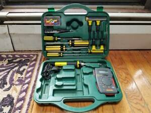 Electronic Tool Set Electrician Kit Electrical Tools Service Repair