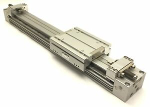 Smc Myh32 300l Pneumatic Rodless Guided Cylinder 32mm Bore 300mm Stroke
