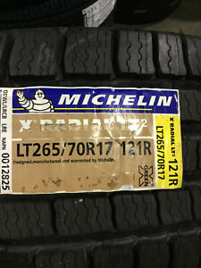 2 New Lt 265 70 17 Lre 10 Ply Michelin X Radial Lt2 Tires
