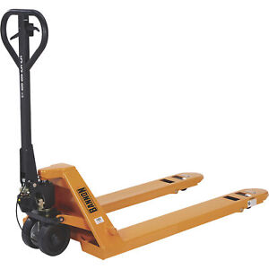 Bannon Pallet Jack With Hand Brake 5500 lb Capacity
