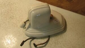 Antique Porcelain Bath Wall Light Fixture Parts No 4
