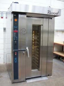 Revent 626 Single Rack Oven natural Gas warranty Comes With One Rack