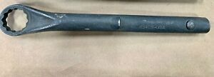 Snap on Industrial 12 point Offset Box Tubular Wrench 1 1 16 27mm