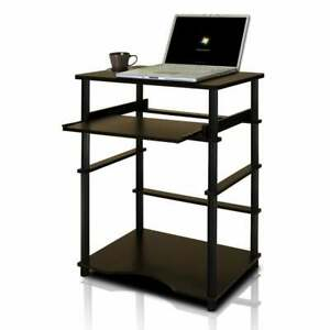 Home Pipe Frame Laptop Notebook Computer Desk With Pull out Small