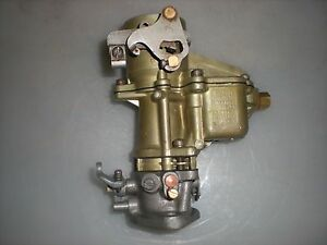 Carter Ball And Ball D6a2 Carburetor 1939 1941 Dodge Plymouth Cars 6 Cylinder