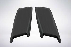 Smooth 2 Pc Hood Scoops 11 5 X 30 X 2 For 2006 2008 Chevy Silverado 1500 Lt