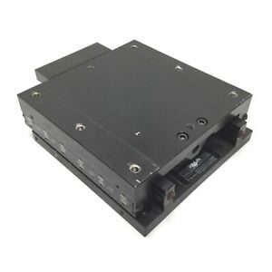 Parker 4945 04 Ball Bearing Positioning Table Carriage 6 X 6 Travel 4