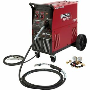 Lincoln Electric Power Mig 350mp Multiprocess Welder Model K2403 2